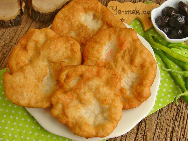 10 Dakikada Hazır, Yok Böyle Enfes Bir Lezzet : Ekmek Hamurundan Tuzlu Lokma