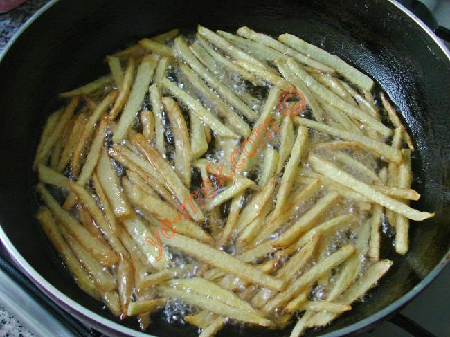 Patates Kızartması Nasıl Yapılır? (4/8) | Resimli Yemek ...