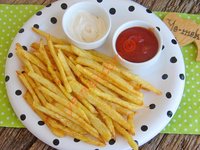 Patates Kızartması Nasıl Yapılır? (6/8) | Resimli Yemek ...