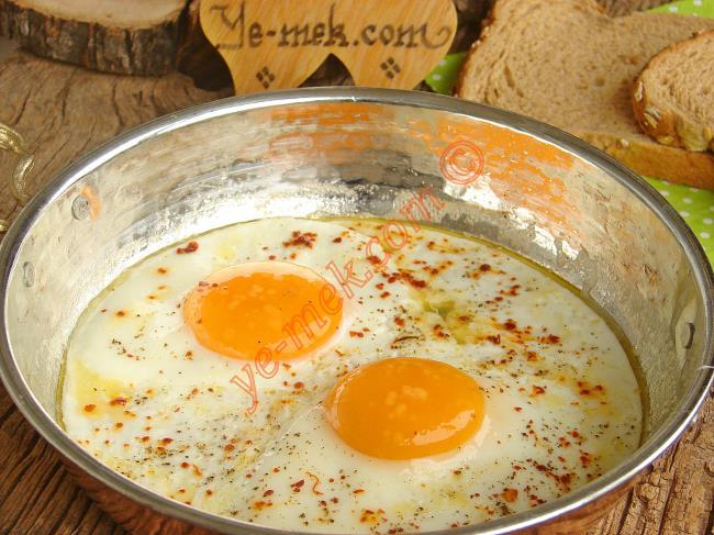Sahanda Yumurta Çeşitleri