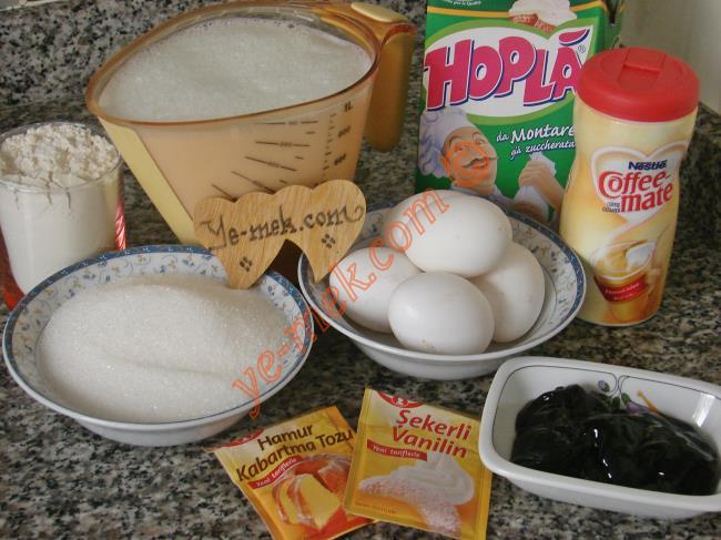Frambuazlı Trileçe Tatlısı Malzemeleri