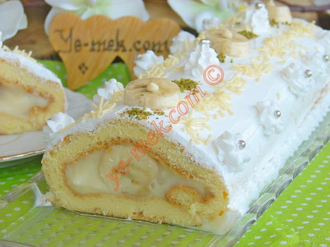 """Muz En Güzel Onunla, O da En Çok Muzla Güzel : """"Muzlu Pasta"""""""