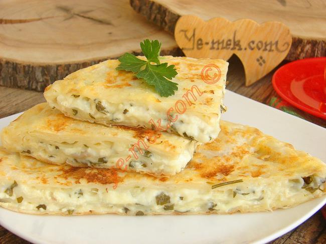 Tavada 15 Dakika da Hazır : Peynirli Tava Böreği