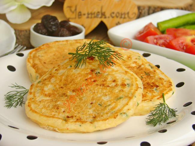 Kahvaltılık Peynirli Pofuduk Pankek