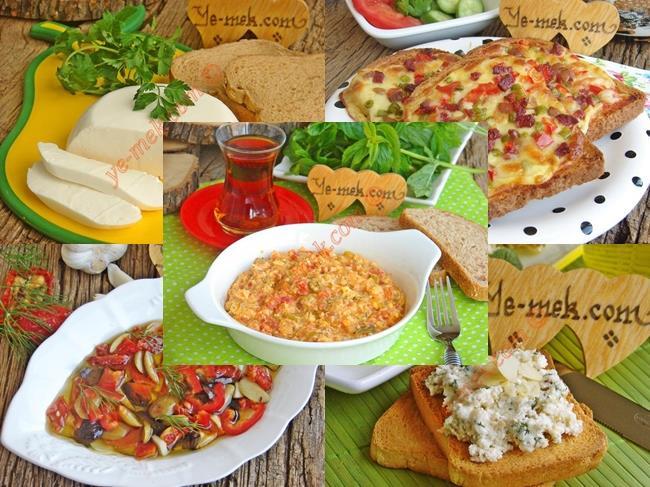 Hafta Sonu Kahvaltı Menüsü
