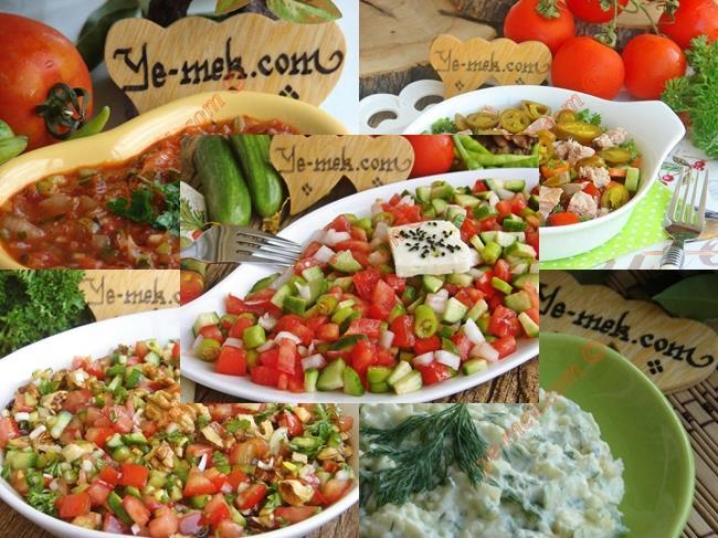 ... İçin Kolay Salata Tarifleri   En Kaliteli Yemek Tarifleri Sitesi