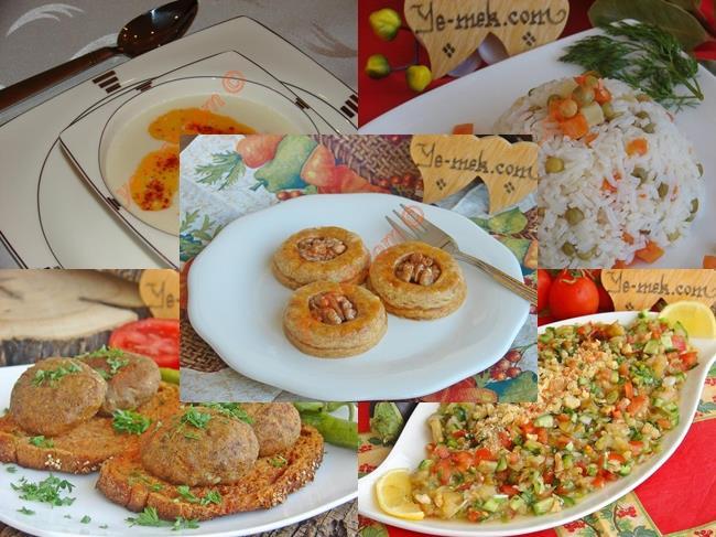 10 günlük iftar menüsü