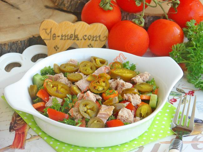 Sebzeli Kolay Salata Tarifleri