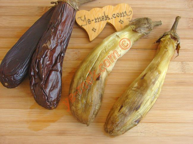 Köz Patlıcanlı Salata Tarifleri