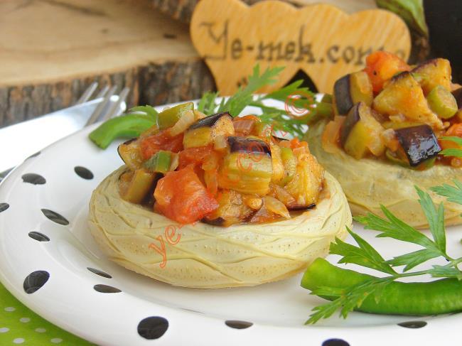 Zeytinyağlı Patlıcanlı Enginar Dolması