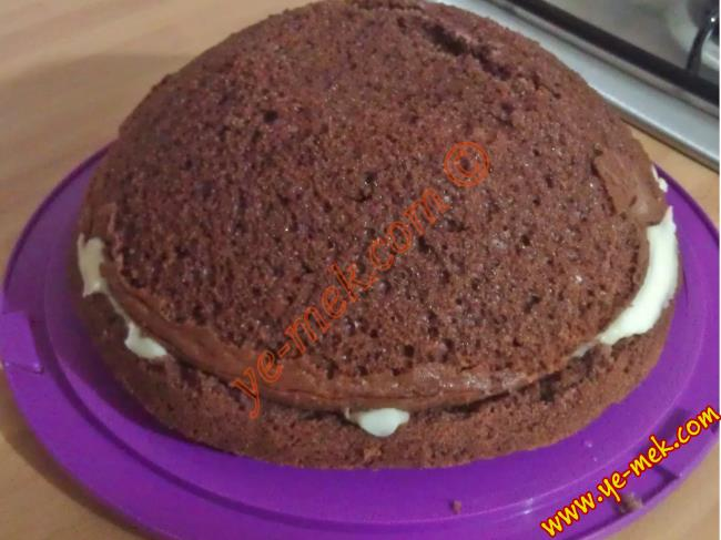 Hazır Kekten Pasta Yapımı