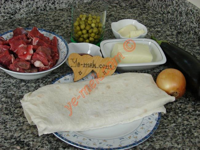 Sultan Kebabı Malzemeleri