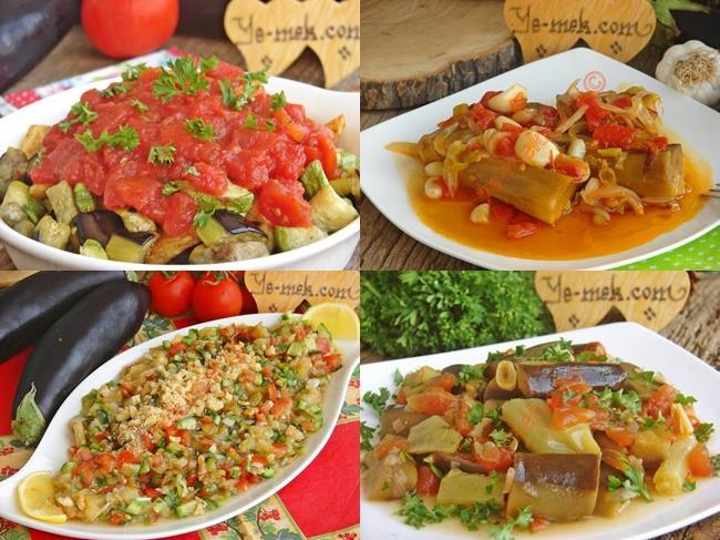 Etsiz Patlıcan Yemekleri