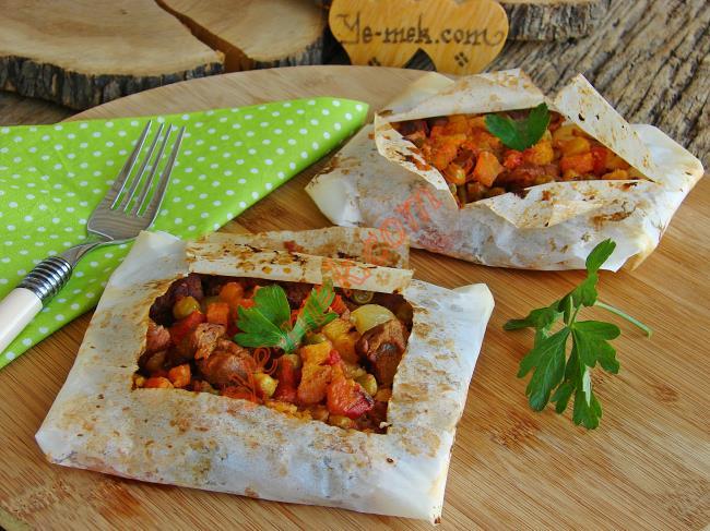 Fırında Etli Patlıcan Kebabı Nasıl Yapılır Video 46