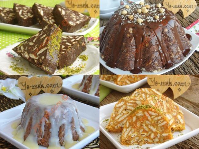 Bisküvi İle Yapabileceğiniz Pratik Pasta Tarifleri