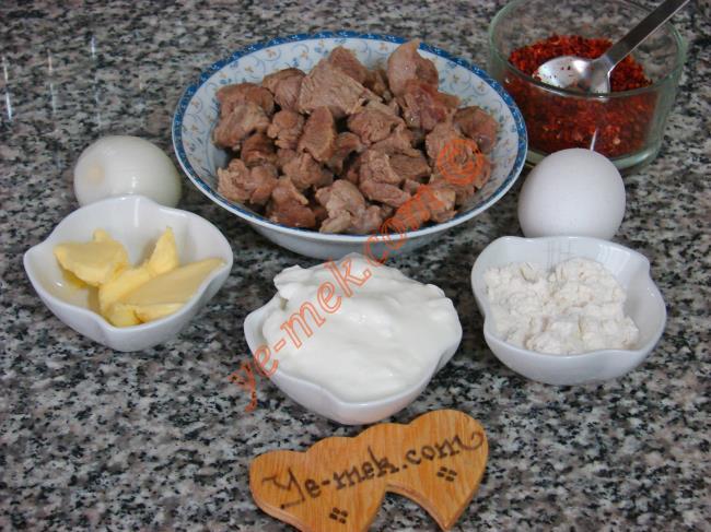 Etli Düğün Çorbası Malzemeleri
