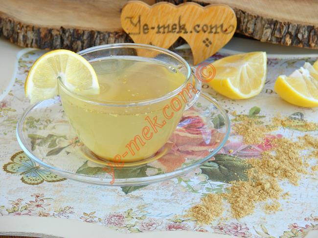 Toz Zencefilli Ballı Limonlu Grip Çayı Nasıl Yapılır