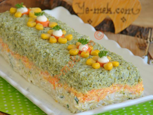 Brokoli Ve Karnabahar Salatasi