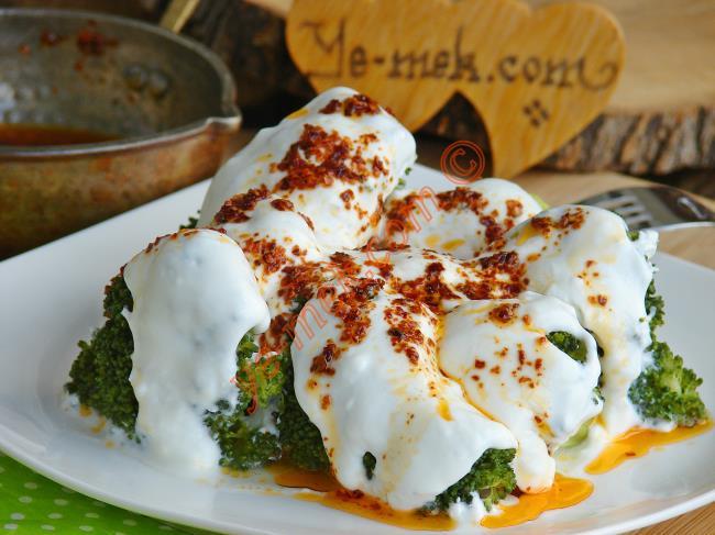 Yoğurtlu Brokoli Salatası