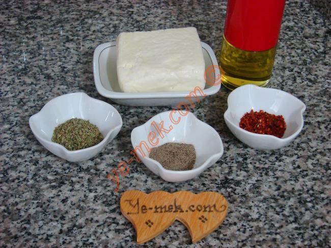 Baharatlı Hellim Peyniri Kızartması - Yapılışı (1/8)