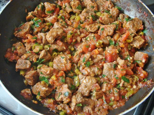 Fırında Etli Patlıcan Kebabı Nasıl Yapılır Video 5