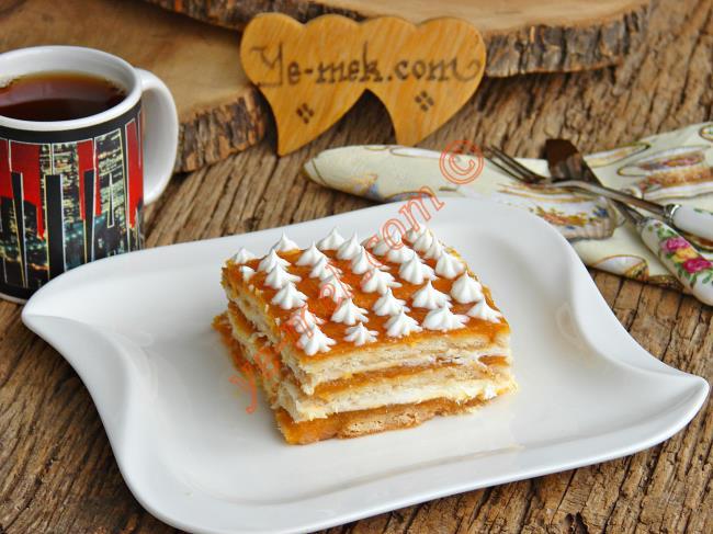 Bir Dilim Asla Yetmez : Bal Kabaklı Bisküvi Pastası