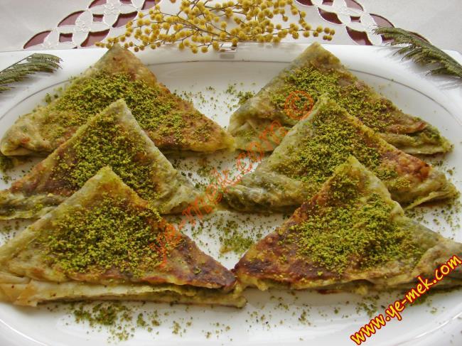Pistachio Filo Dough Dessert Recipe