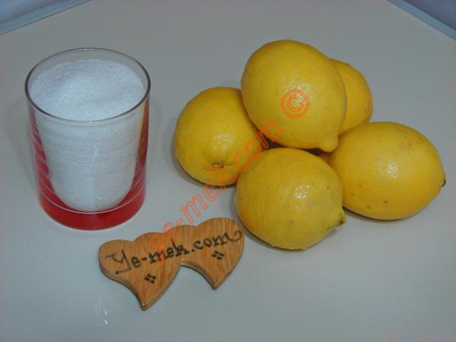 Limon Reçeli - Yapılışı (1/12)