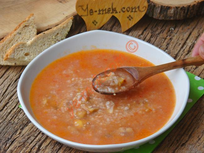 Kestaneli Tarhana Çorbası