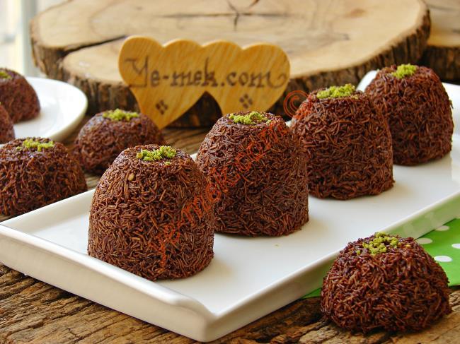 Çikolatalı Kadayıf Topları Nasıl Yapılır