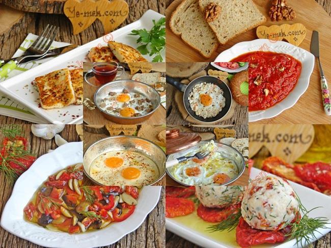 Kahvaltı için kolay ve lezzetli tarifler