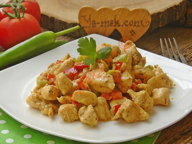 Kremalı Biberli Tavuk