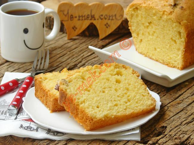 Ispanaklı Sade Kek Nasıl Yapılır