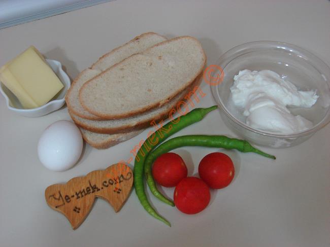 Yoğurtlu Ekmek Dilimleri Malzemeleri
