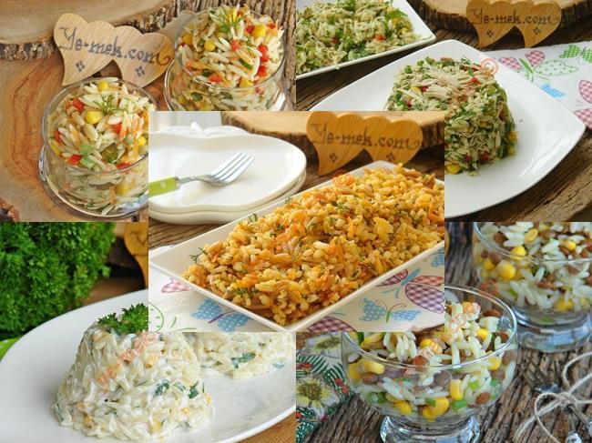 Misafir İçin Yapabileceğiniz Değişik Arpa Şehriye Salataları