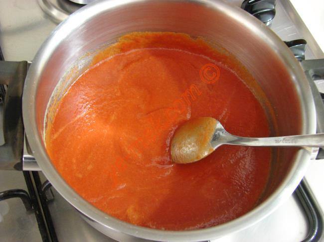Erişteli Domates Çorbası Nasıl Yapılır? (5/12) | Resimli ...