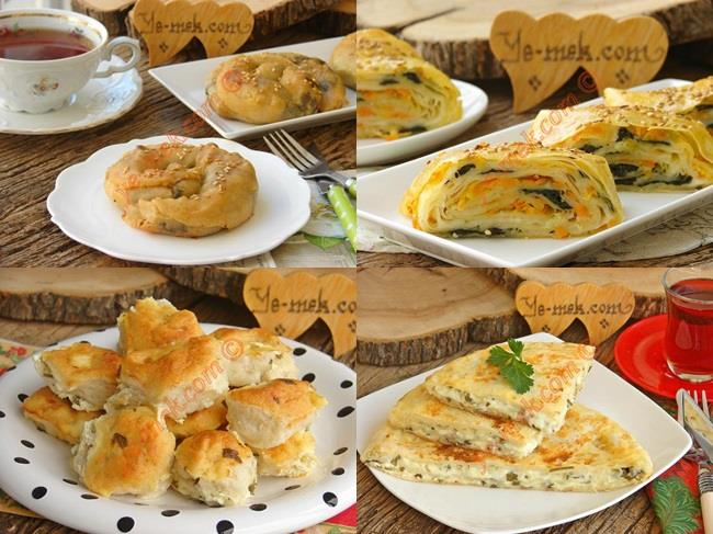 Sahur İçin Tok Tutan Kahvaltılık Börek Tarifleri