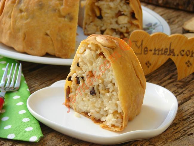 Türk Mutfağının En Özel Sunumlu Pilavı : Perde Pilavı