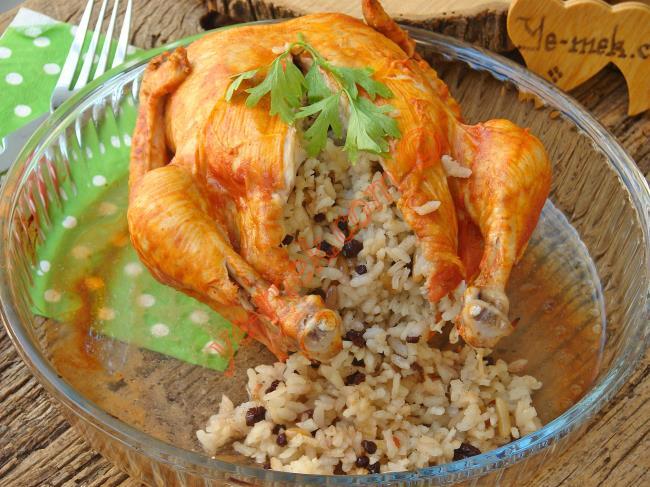 Fırında Patatesli Tavuk Göğsü