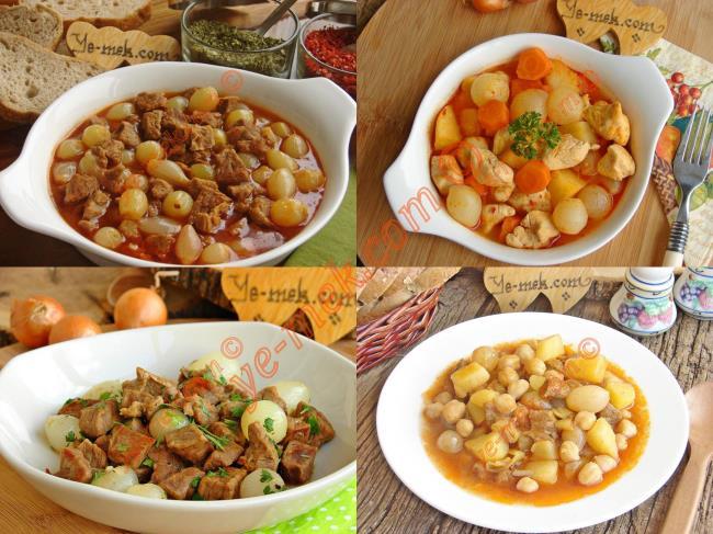 Arpacık Soğanlı Yemek Tarifleri