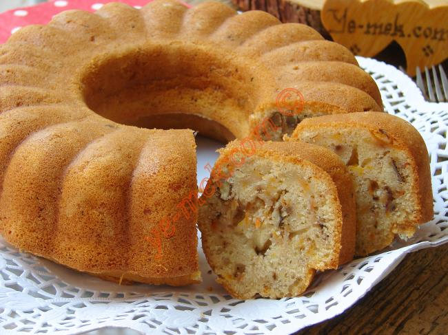 Bu Kekin Hayranları Var : Havuçlu Cevizli Tarçınlı Kek