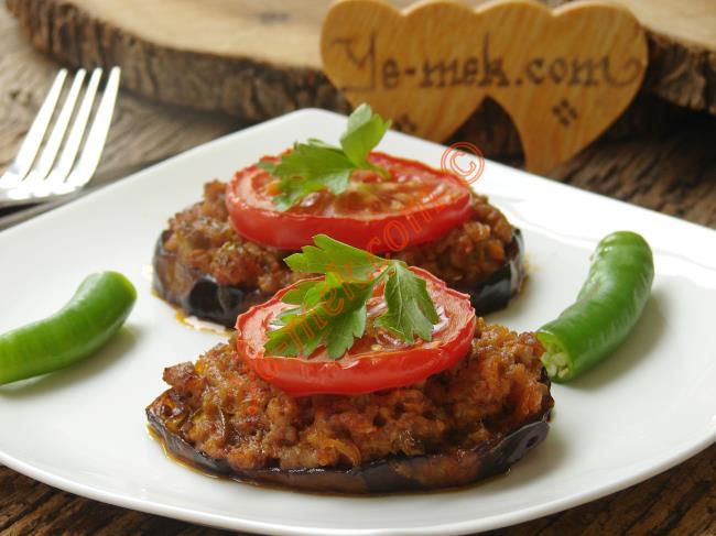 Resimli Fırında Patlıcan Kebabı Tarifi