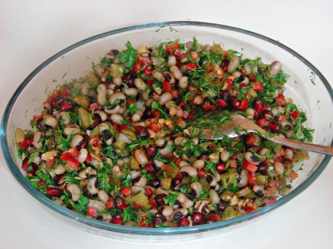 Narlı Kuru Börülce Salatası Videosu