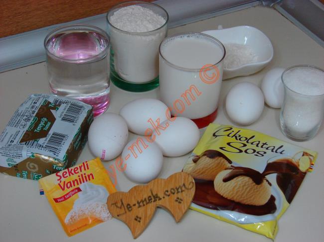 Pastane Usulü Ekler Pasta Malzemeleri