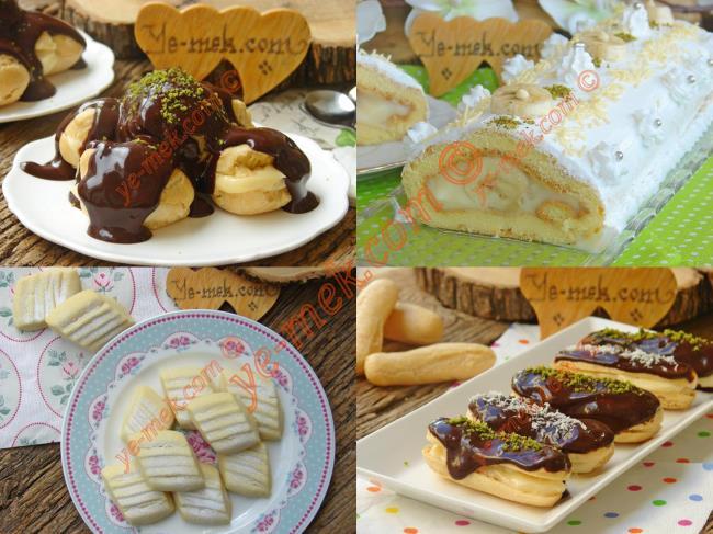 Pastane Usulü Tatlı Tarifler