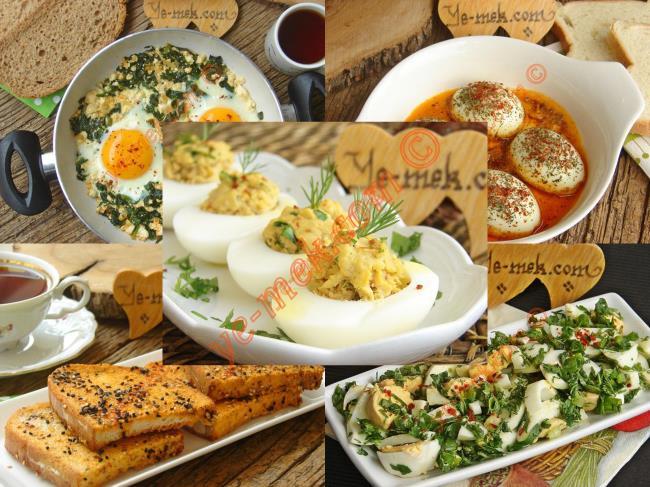 Yumurta İle Menemen Tarifleri