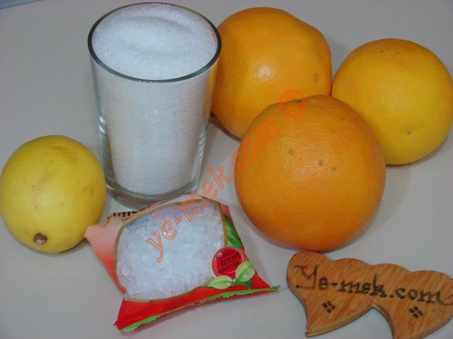 3 Portakaldan 5 Litre Portakal Suyu - Yapılışı (1/16)