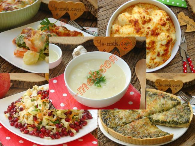Brokoli Yemekleri Tarifleri