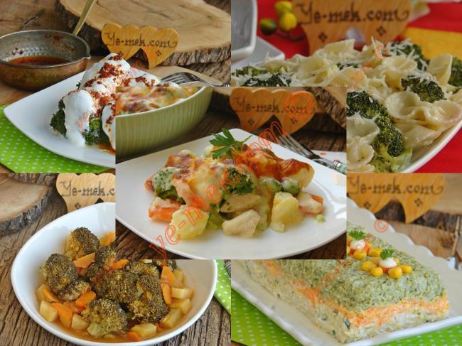 Brokolili Yemekler