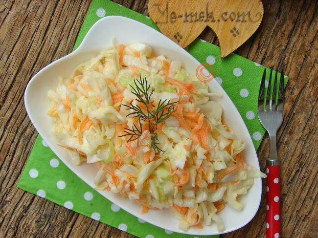 Yok Böyle Bir Lezzet, Meşhur : Coleslaw Salatası